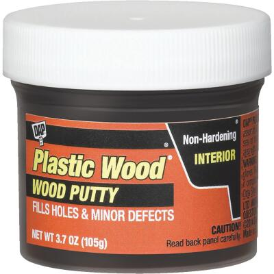 DAP Plastic Wood 3.7 Oz. Ebony Wood Putty