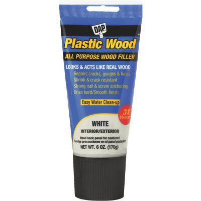 Dap Plastic Wood 6 Oz. White All Purpose Wood Filler