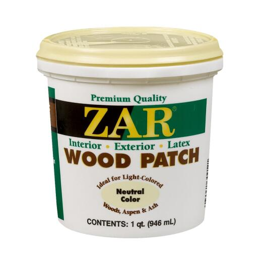 ZAR Neutral 1 Qt. Latex Wood Filler