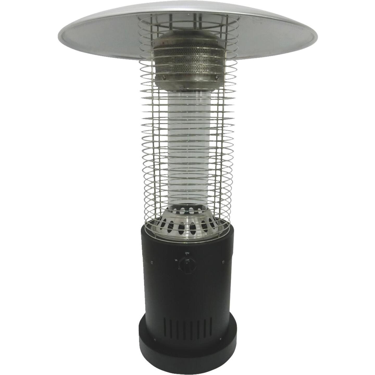 Bond 10,000-BTU Bronze Steel Rapid Induction Tabletop Gas Patio Heater Image 1