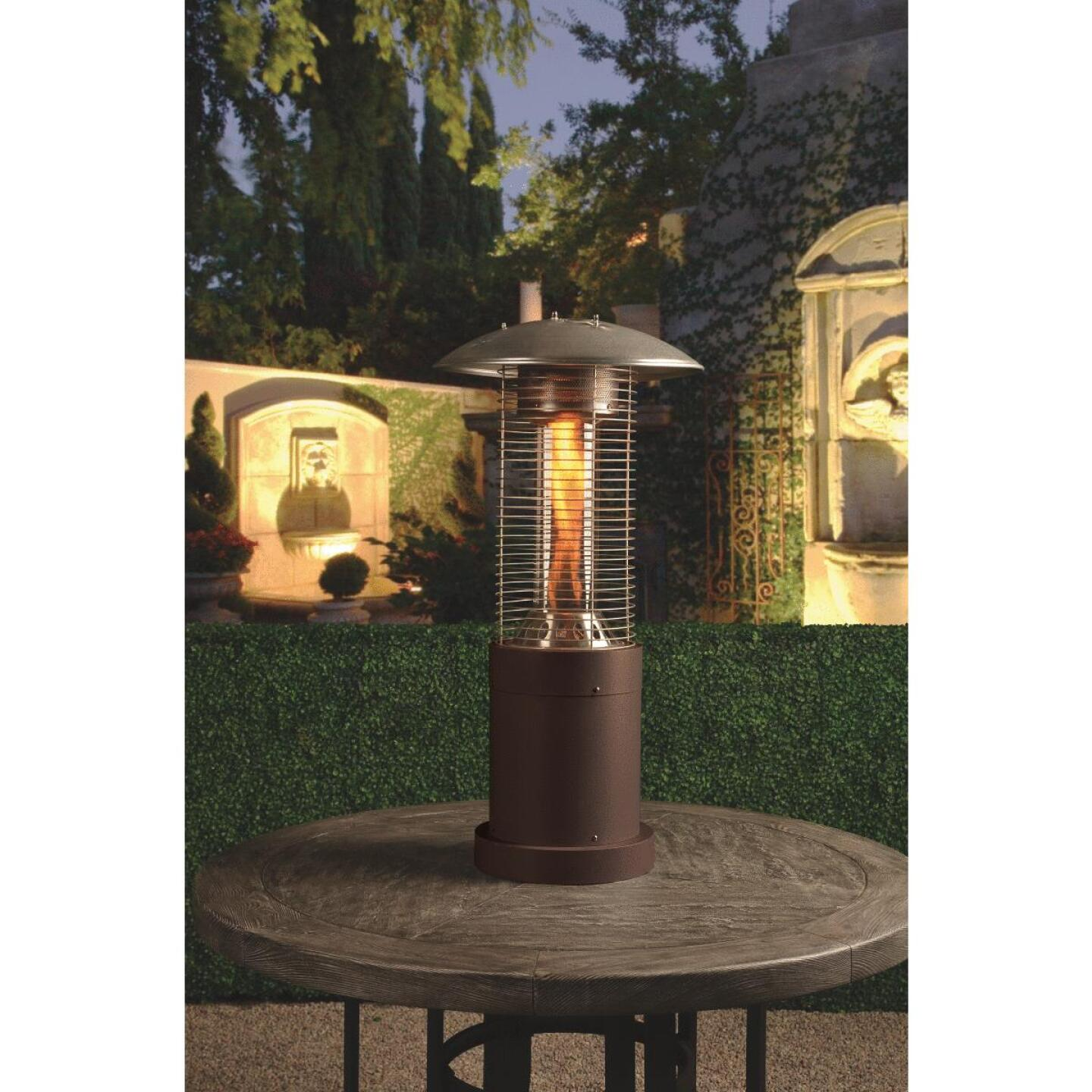 Bond 10,000-BTU Bronze Steel Rapid Induction Tabletop Gas Patio Heater Image 3