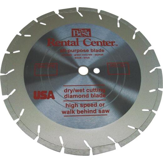 NED 14 In. Segmented Rim Dry/Wet Cut Diamond Blade